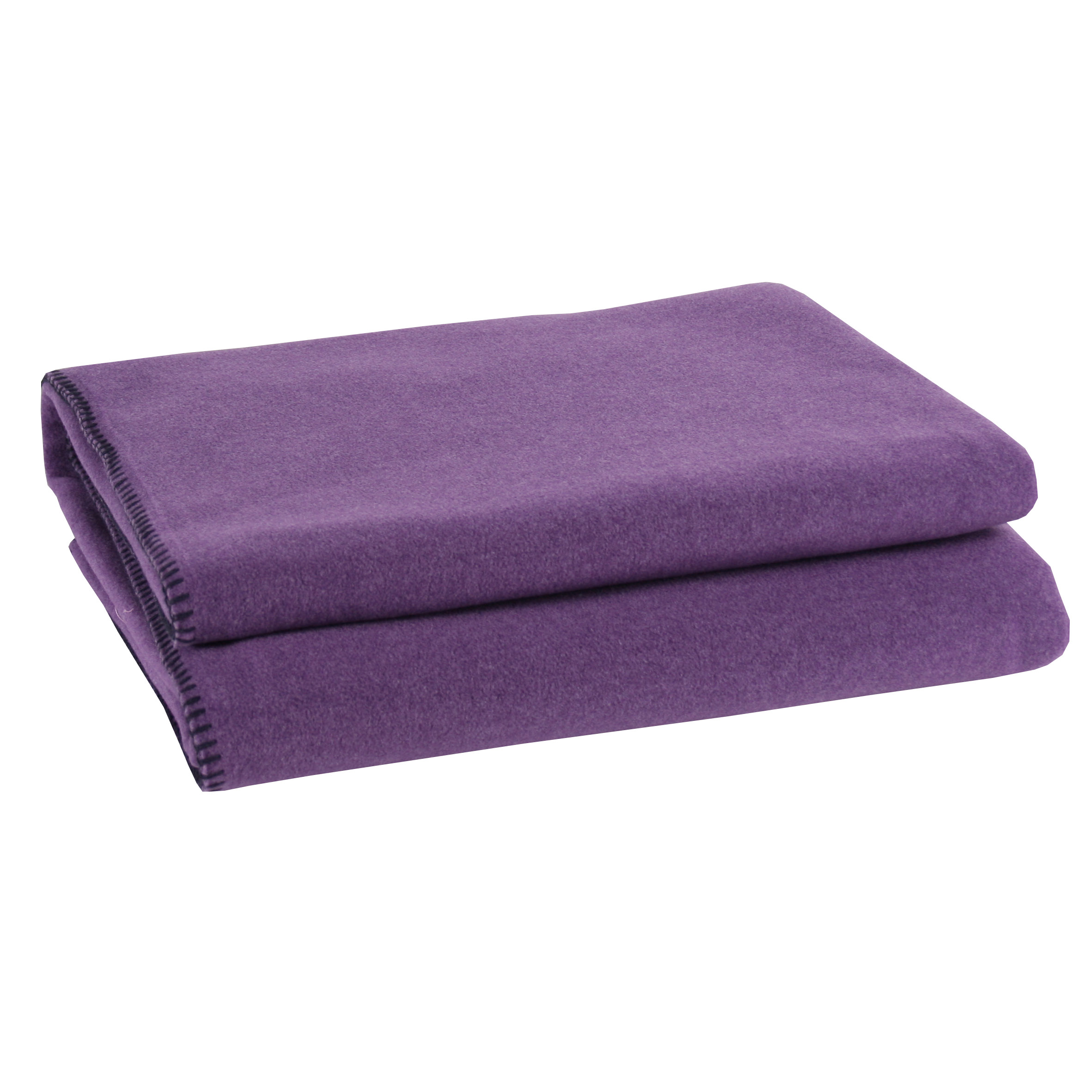 zoeppritz soft fleece decke lila zoeppritz querpass shop
