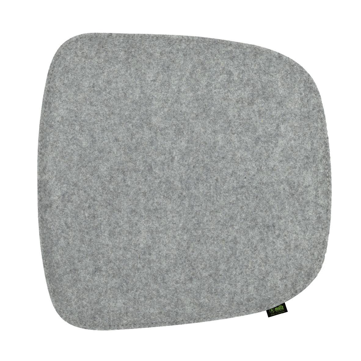 filz sitzkissen 2er set f r 39 39 eames arm chair 39 39 silbergrau. Black Bedroom Furniture Sets. Home Design Ideas