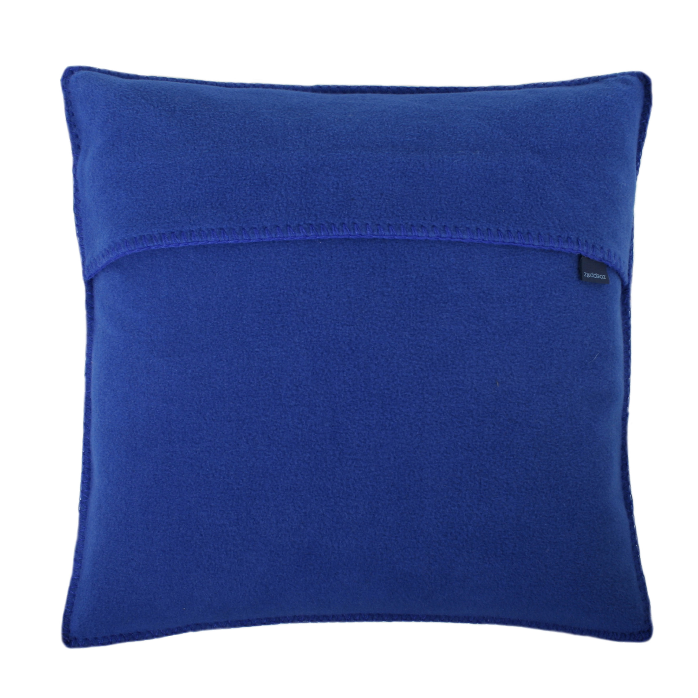 zoeppritz soft fleece kissen 40x40 royalblau zoeppritz. Black Bedroom Furniture Sets. Home Design Ideas