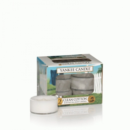 Yankee Candle - Clean Cotton Teelichter