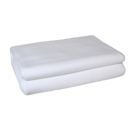 Zoeppritz Soft Fleece Decke white