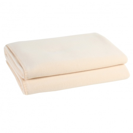 Zoeppritz Soft Fleece Decke cream
