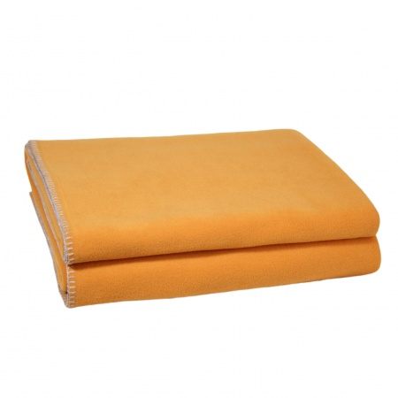 Zoeppritz Soft Fleece Decke Saffron
