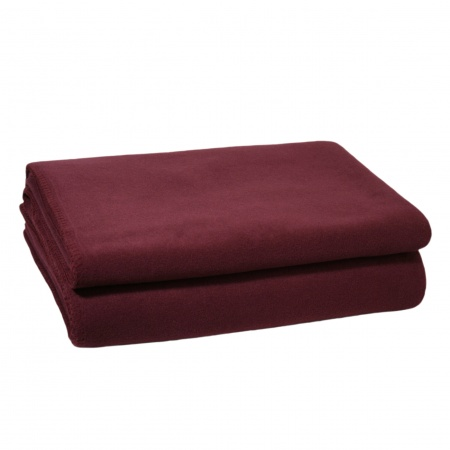 Zoeppritz Soft Fleece Decke Wine