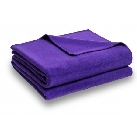 Zoeppritz Soft Fleece Decke Shiny Lilac