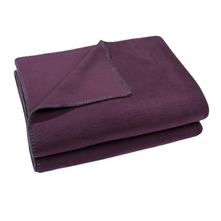 Zoeppritz Soft Fleece Decke Blackberry