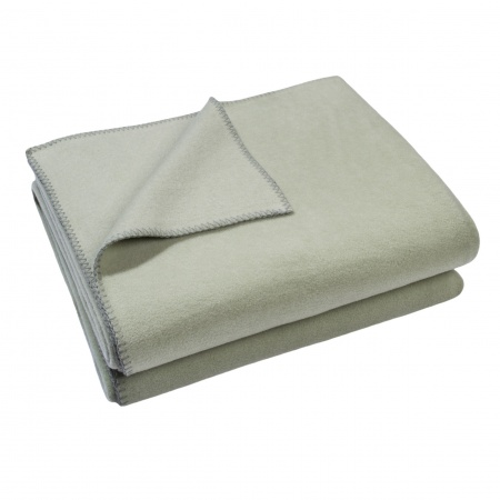 Zoeppritz Soft Fleece Decke Milky Green
