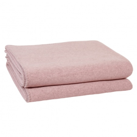 Zoeppritz Soft Wool Decke rose
