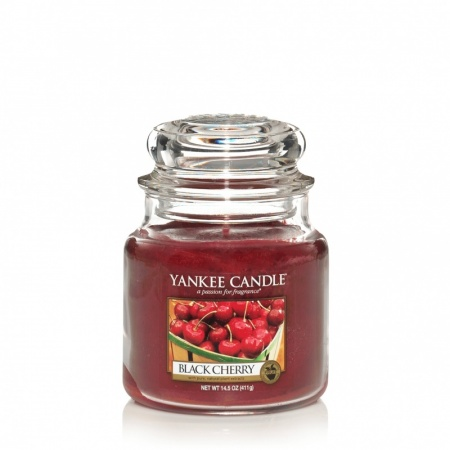 Yankee Candle - Black Cherry mittel