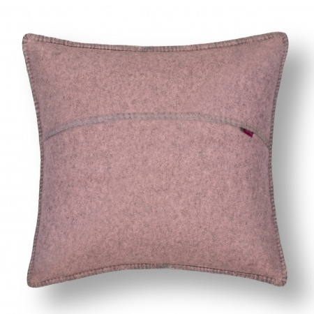 Zoeppritz Soft Wool Kissen 50x50 rose, 2er-Set