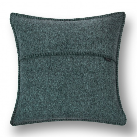 Zoeppritz Soft Wool Kissen 50x50 deep pacific, 2er-Set