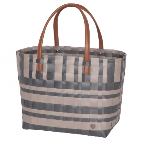 LUMBERJACK Shopper liver with dark grey