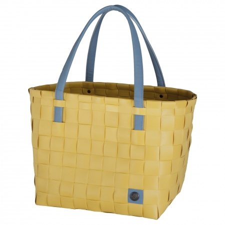 COLOR BLOCK Shopper mustard