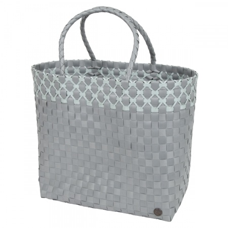SOFIA Shopper flint grey with greyish green
