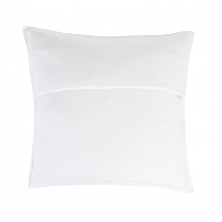 Zoeppritz Soft Fleece Kissen 50x50 white, 2-er Set