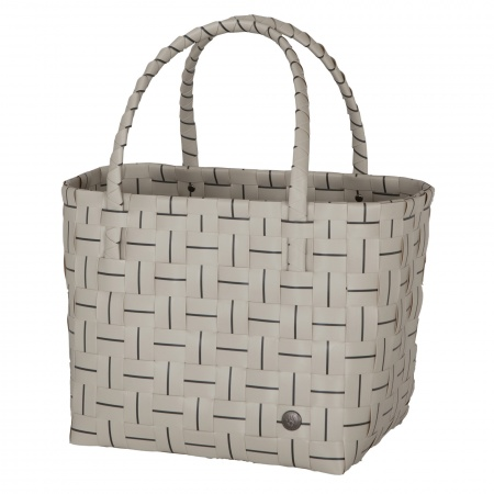 ESSENTIAL Shopper pale grey with dark grey