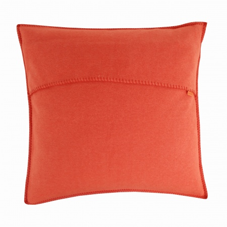 Zoeppritz Soft Fleece Kissen 40x40 papaya, 2-er Set