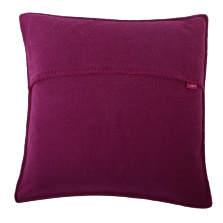 Zoeppritz Soft Fleece Kissen 40x4 Fuchsia, 2-er Set