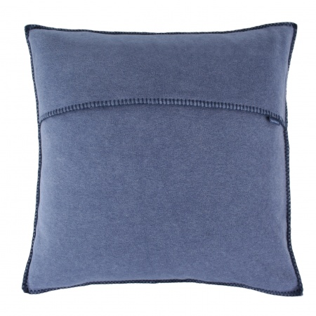 Zoeppritz Soft Fleece Kissen 40x40 indigo, 2-er Set