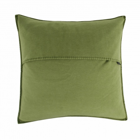 Zoeppritz Soft Fleece Kissen 40x40 green, 2-er Set