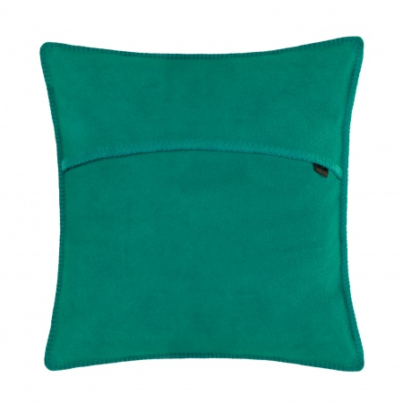 Zoeppritz Soft Fleece Kissen 40x40 Dark Turquoise, 2-er Set