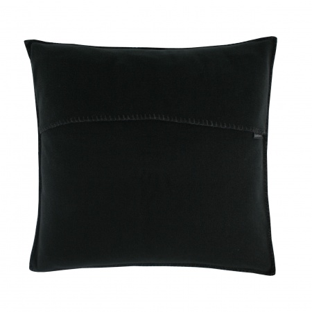 Zoeppritz Soft Fleece Kissen 40x40 black, 2-er Set
