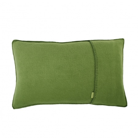 Zoeppritz Soft Fleece Kissen 30x50 green, 2-er Set