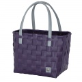 COLOR BLOCK Shopper aubergine