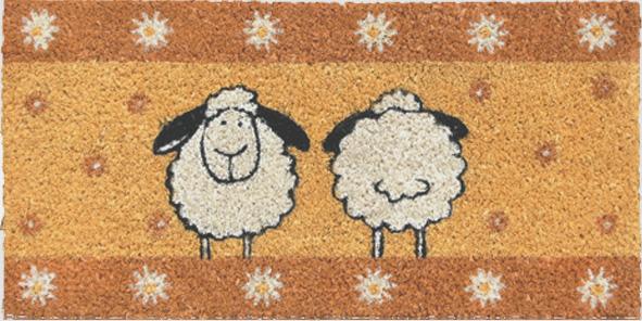 fu matte 39 39 sheep 39 39 kokos mini matte fu matten querpass shop. Black Bedroom Furniture Sets. Home Design Ideas