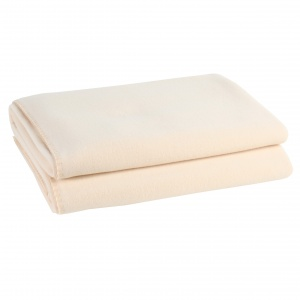 Zoeppritz Soft Fleece Decke Creme
