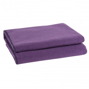Zoeppritz Soft Fleece Decke Lila