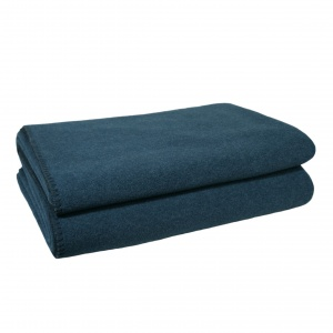 Zoeppritz Soft Fleece Decke Dark Ocean