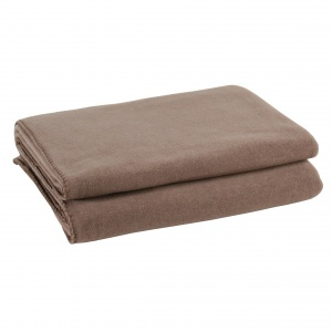 Zoeppritz Soft Fleece Decke Braun
