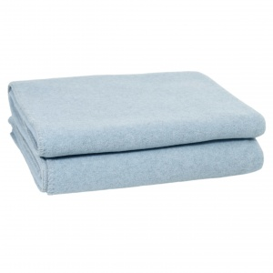 Zoeppritz Soft Wool Decke powder blue