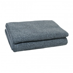 Zoeppritz Soft Wool Decke deep pacific