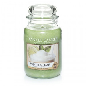 Yankee Candle - Vanilla Lime gro�