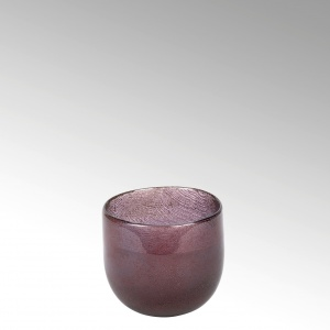 Lambert - Vase Cellini rund purple