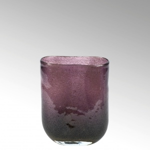 Lambert - Vase Cellini oval klein purple