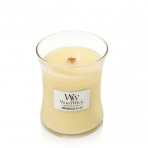 WoodWick Medium Lemongrass & Lily