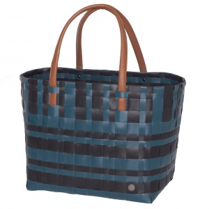 LUMBERJACK Shopper black with midnight blue