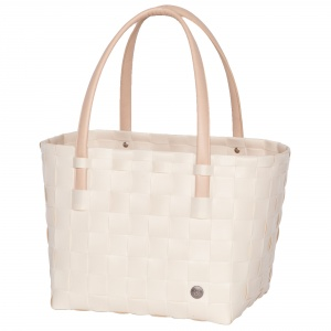 COLOR BLOCK Shopper ecru white