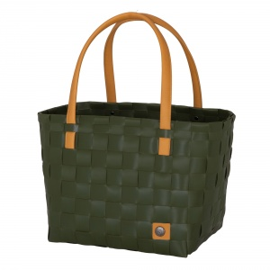 COLOR BLOCK Shopper hunting green