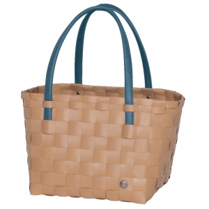 COLOR BLOCK Shopper hazelnut brown