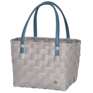 COLOR BLOCK Shopper brushed grey