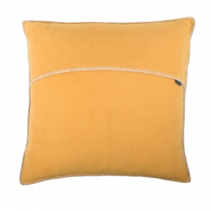 Zoeppritz Soft Fleece Kissen 50x50 Saffron, 2-er Set