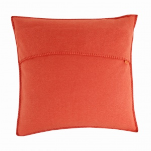 Zoeppritz Soft Fleece Kissen 50x50 Orange, 2-er Set