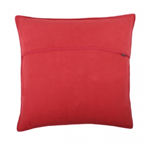 Zoeppritz Soft Fleece Kissen 50x50 Geranium, 2-er Set
