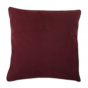 Zoeppritz Soft Fleece Kissen 50x50 Wine, 2-er Set