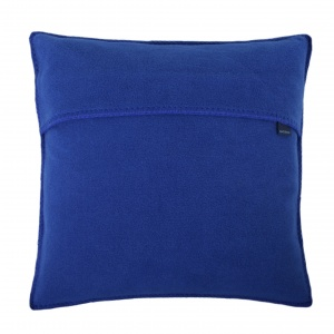 Zoeppritz Soft Fleece Kissen 50x50 Royalblau, 2-er Set
