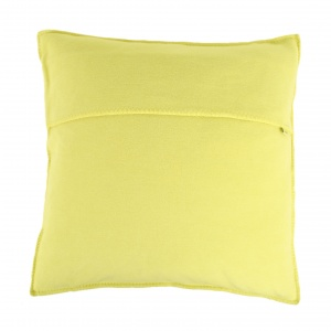 Zoeppritz Soft Fleece Kissen 50x50 Lime, 2-er Set